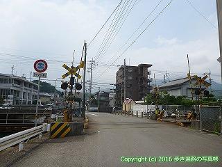 37-138高知県須崎市JR土讃線踏切