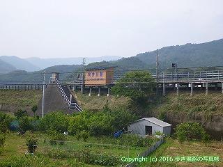 38-326高知県幡多郡黒潮町 土佐くろしお鉄道 有井川駅