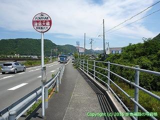 41-289愛媛県宇和島市津島大橋バス停