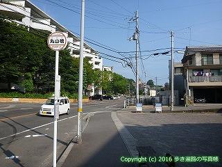 52-029愛媛県松山市丸山橋バス停