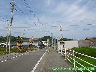 52-099愛媛県松山市JR予讃線踏切