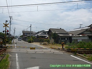 60-087愛媛県西条市JR予讃線踏切