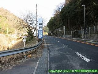 6601-099愛媛県四国中央市曼蛇峠ルート合流点