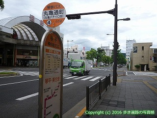 78-040香川県丸亀市丸亀通町バス停